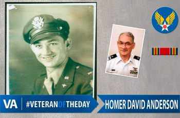 Homer David Anderson - Veteran of the Day