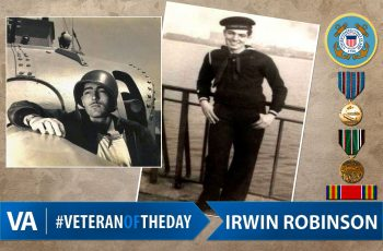 Irwin Robinson - Veteran of the Day