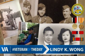 Lindy Wong - Veteran of the Day
