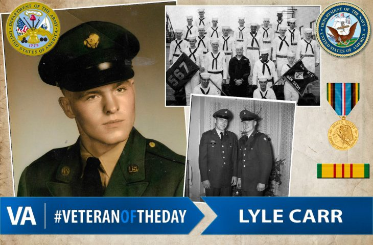 #VeteranOfTheDay Army & Navy Veteran Lyle Carr
