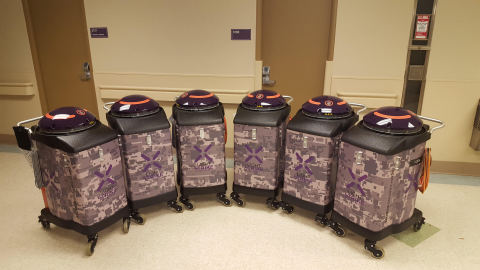 hoenix VA deploys army of germ-zapping robots to enhance patient and employee safety