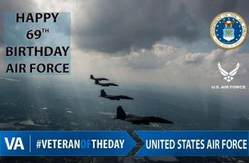 United States Air Force 69th Birthday - Veteran of the Day