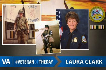 Veteran of the Day Laura Clark