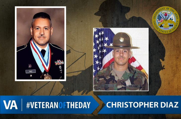#VeteranOfTheDay Army Veteran Christopher Diaz