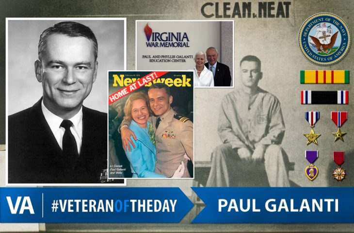 #VeteranOfTheDay Navy Veteran Paul Galanti