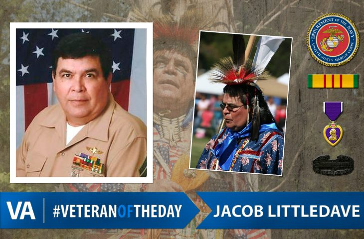 #VeteranOfTheDay Marine Corps Veteran Jacob Littledave
