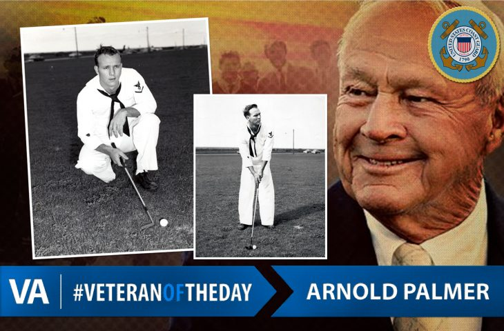#VeteranOfTheDay Coast Guard Veteran Arnold Palmer