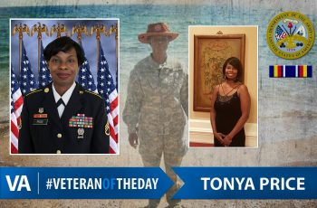 Veteran of the Day Tonya Price