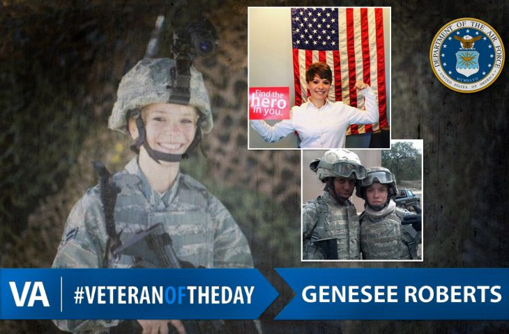 #VeteranOfTheDay Air Force Veteran Genesee Roberts