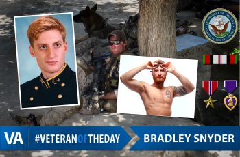 Veteran of the Day Bradley Snyder