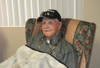 Veteran Lewis Taylor in Medical Foster Home