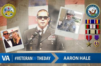 Aaron Hale - Veteran of the Day