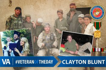 Clayton Blunt - Veteran of the Day