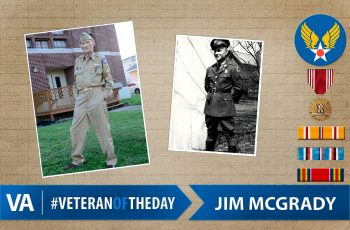 Jim McGrady - Veteran of the Day