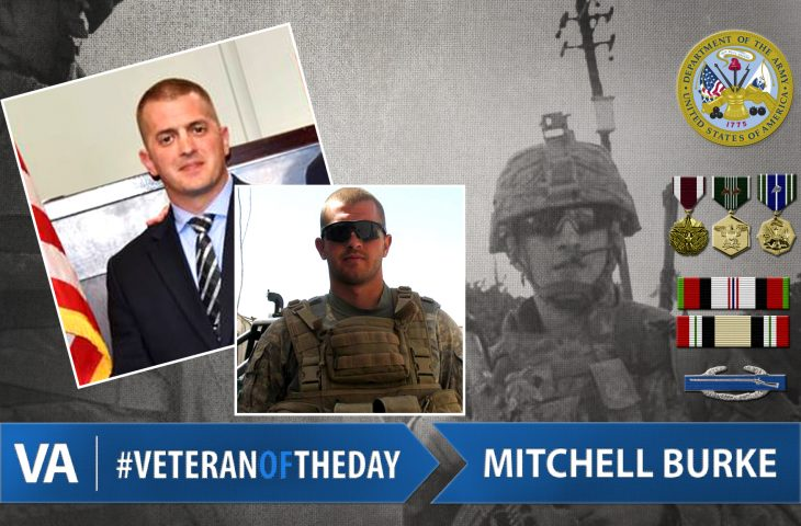 #VeteranOfTheDay Army Veteran Mitchell Burke