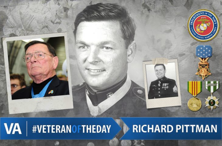#VeteranOfTheDay Marine Corps Veteran Richard Pittman