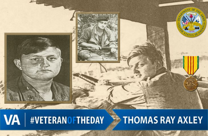 #VeteranOfTheDay Army Veteran Thomas Ray Axley