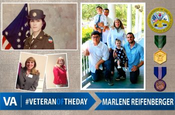 Marlene Reifenberger - Veteran of the Day