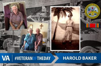 Veteran of the Day Harold Baker