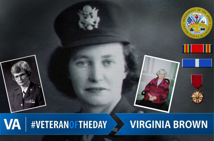 #VeteranOfTheDay Army Veteran Virginia L. Brown