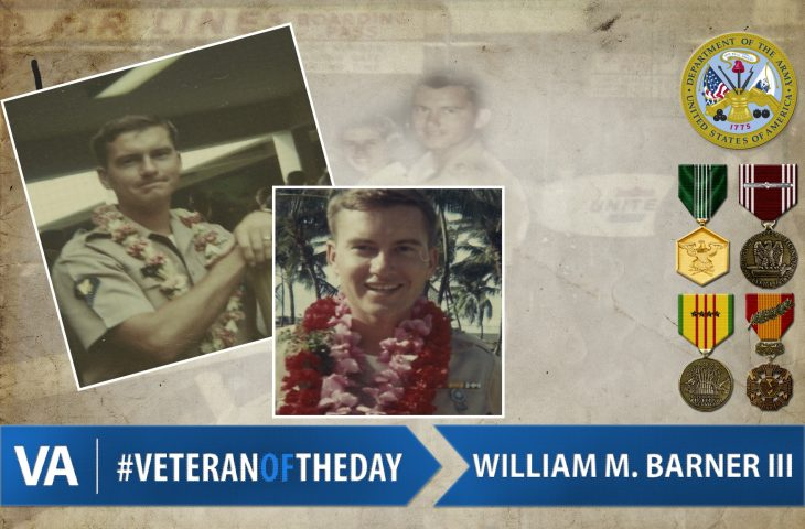#VeteranOfTheDay Army Veteran William Maxwell Barner, III