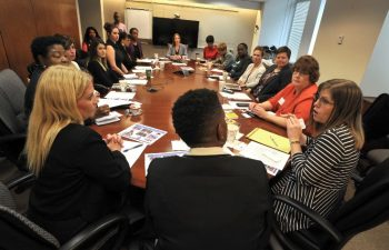 On Nov. 2, the Center for Women Veterans hosted its inaugural meeting with representatives from Veterans service organizations, military service organizations, and non-profit organizations.