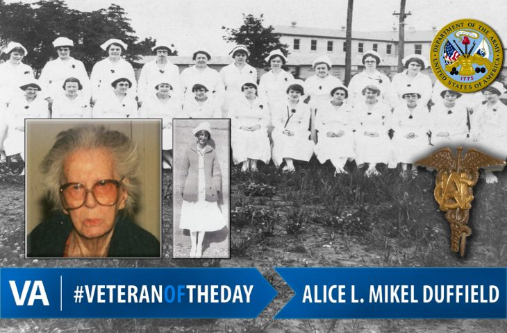 Alice L. Mikel Duffield - Veteran of the Day