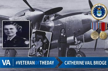 Catherine Vail Bridge - Veteran of the Day