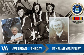 Veteran of the Day Ethel Meyer Finley