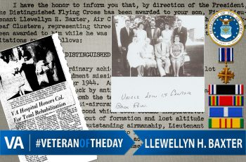Llewellyn H. Baxter - Veteran of the Day