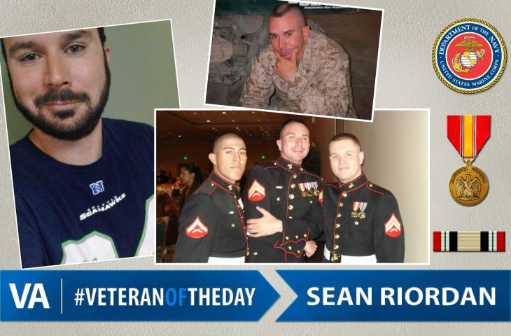 Sean Riordan - Veteran of the Day