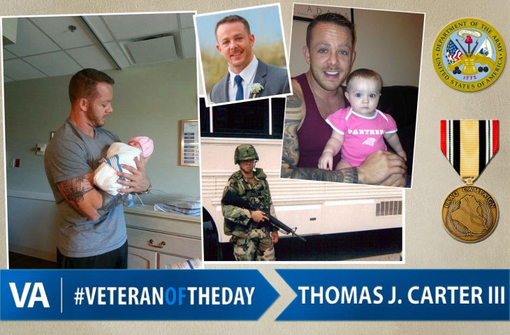 Thomas J. Carter III - Veteran of the Day