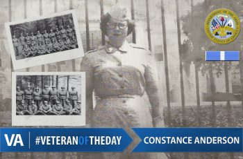 Constance Anderson - Veteran of the Day