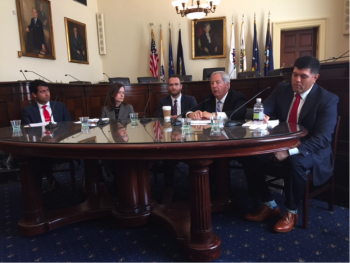 VBA OEO's Curt Coy on Capitol Hill.