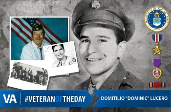Domitilic Lucero - Veteran of the Day
