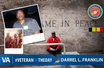 Darrel L. Franklin - Veteran of the Day