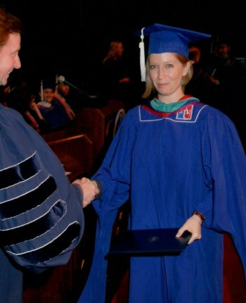 image of Kayla Williams graduating from American University