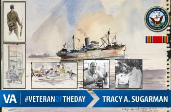 Veteran of the Day Tracy Sugarman