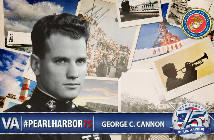 George C. Cannon - Pearl Harbor 75th Anniversary