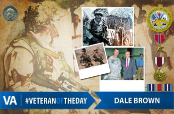 Dale Allen Brown - Veteran of the Day