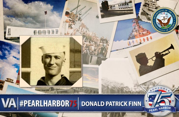 Donald Finn - Pearl Harbor 75th Anniversary