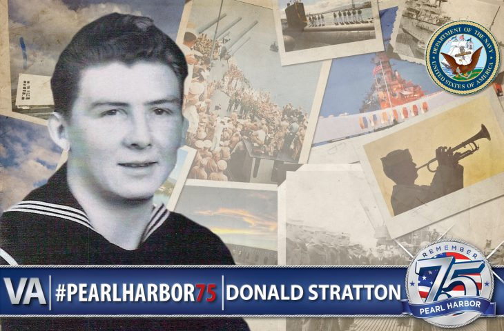 Donald Stratton - Pearl Harbor 75th Anniversary