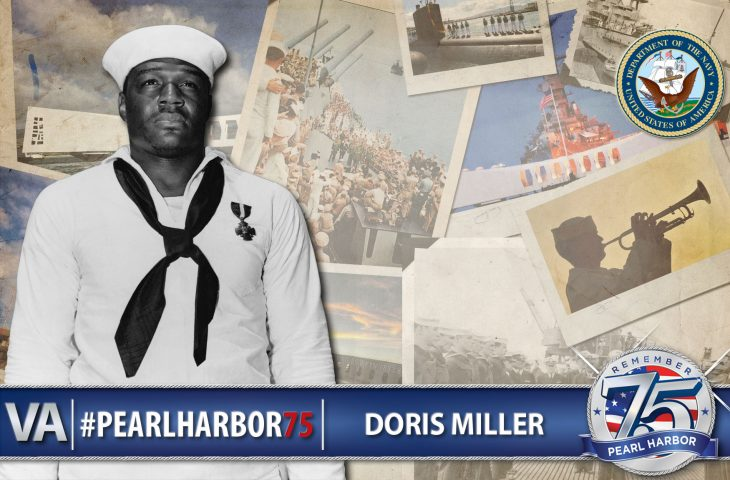 Doris Miller - Pearl Harbor 75th Anniversary