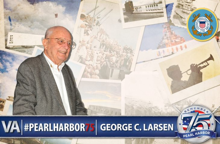 George C. Larsen - Pearl Harbor 75th Anniversary