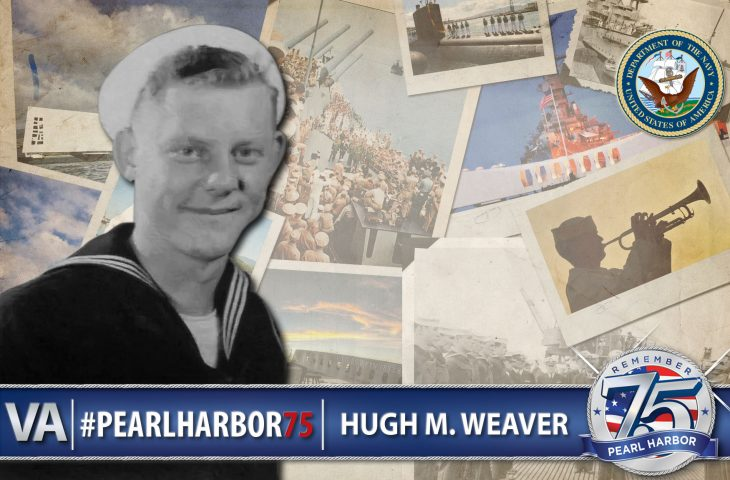 Hugh Weaver - Pearl Harbor 75th Anniversary