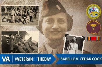 Isabelle Cook - Veteran of the Day