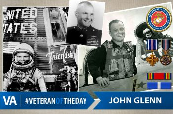 John Glenn - Veteran of the Day