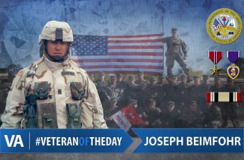 Joseph Beimfohr - Veteran of the Day