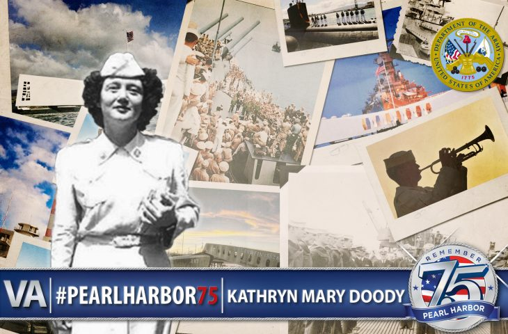 Kathryn Doody Pearl Harbor 75th Anniversary