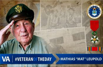 "Mathias ""Mat"" Leupold - Veteran of the Day"